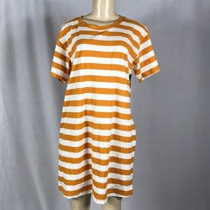 Wild fable striped TShirt dress
